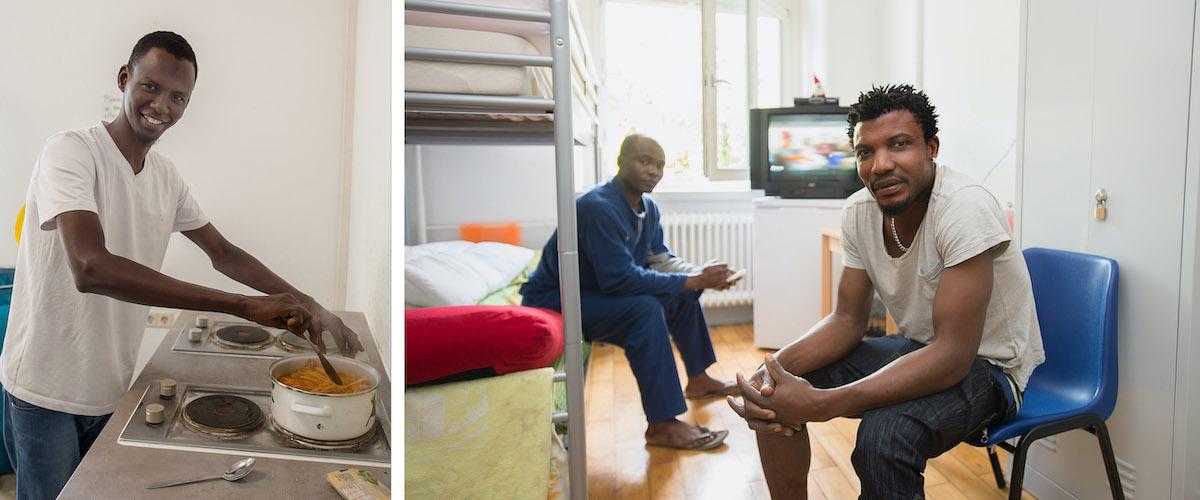 40 Flüchtlinge Fotograf Reutlingen