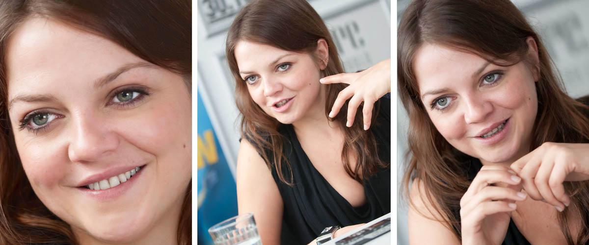 Pressefotografie Annett Luisan Interview Reutlinger General-Anzeiger