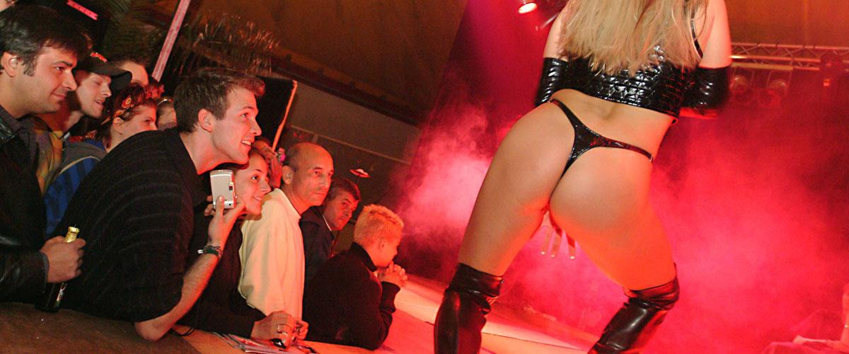 Pressefotografie Erotik Show