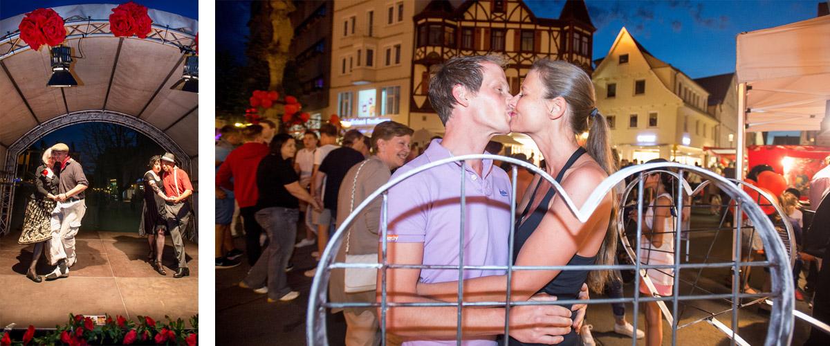 Pressefotografie Lange Einkaufsnacht in Reutlingen