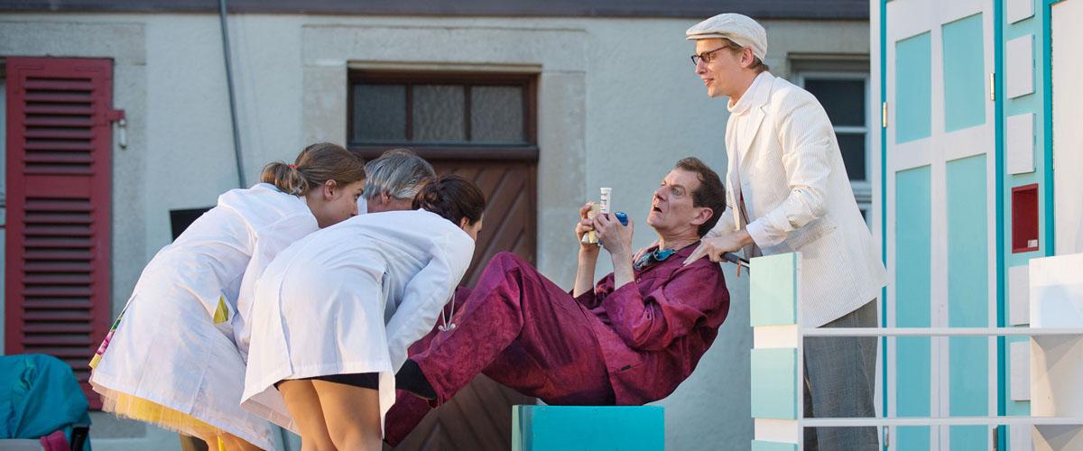 "Pressefotografie Theater Tonne Reutlingen ""Der eingebildete Kranke"" 2"