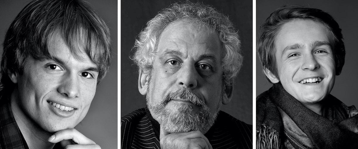 5 Männer im Fotostudio trinkhaus fotografie