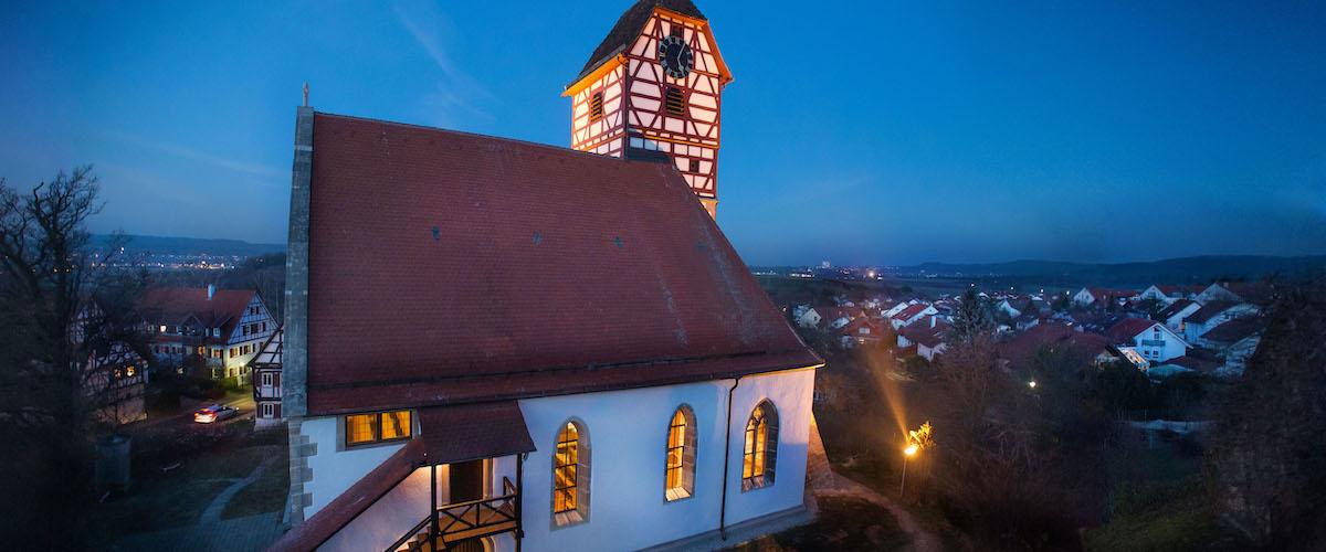 52 Architekturfotos Veitkirche Nehren trinkhaus fotografie