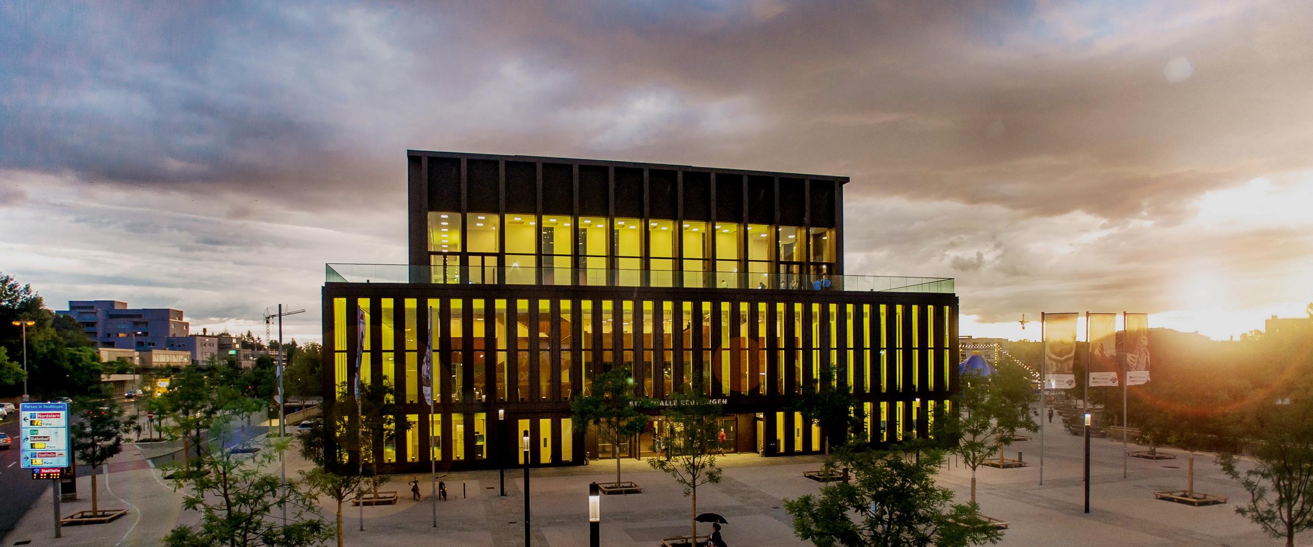 Architektur Stadthalle Reutlingen