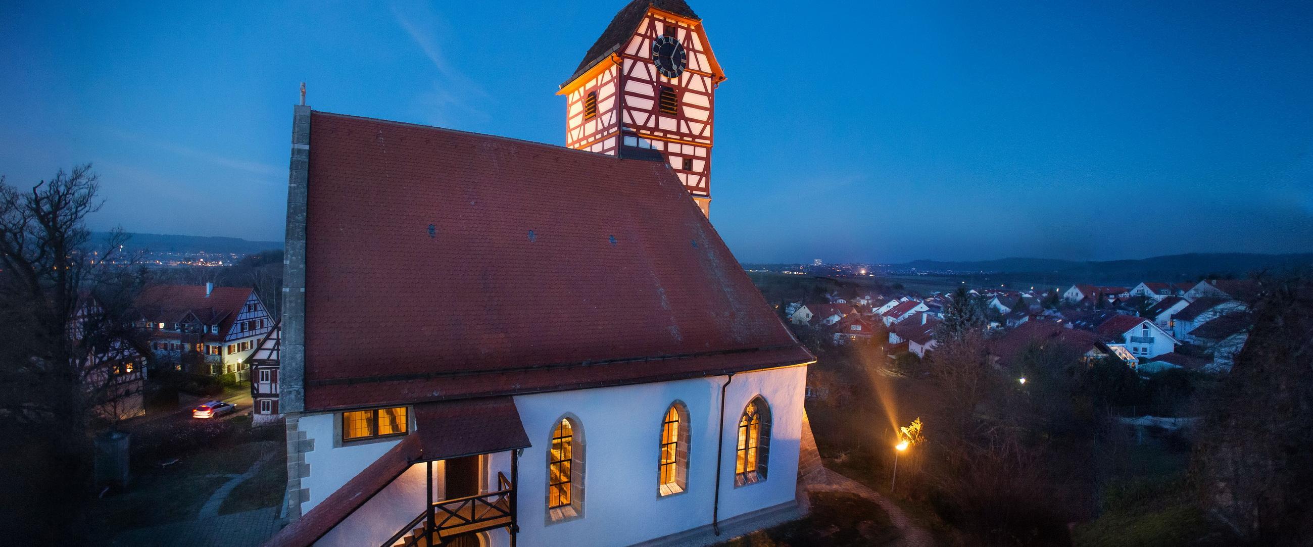 Architektur Veitkirche Nehren